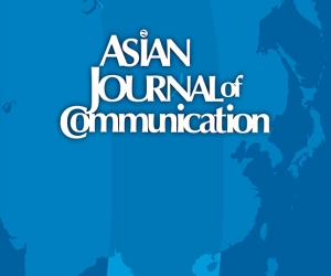 2019 Impact Factor 0.743 Asian Journal of Communication